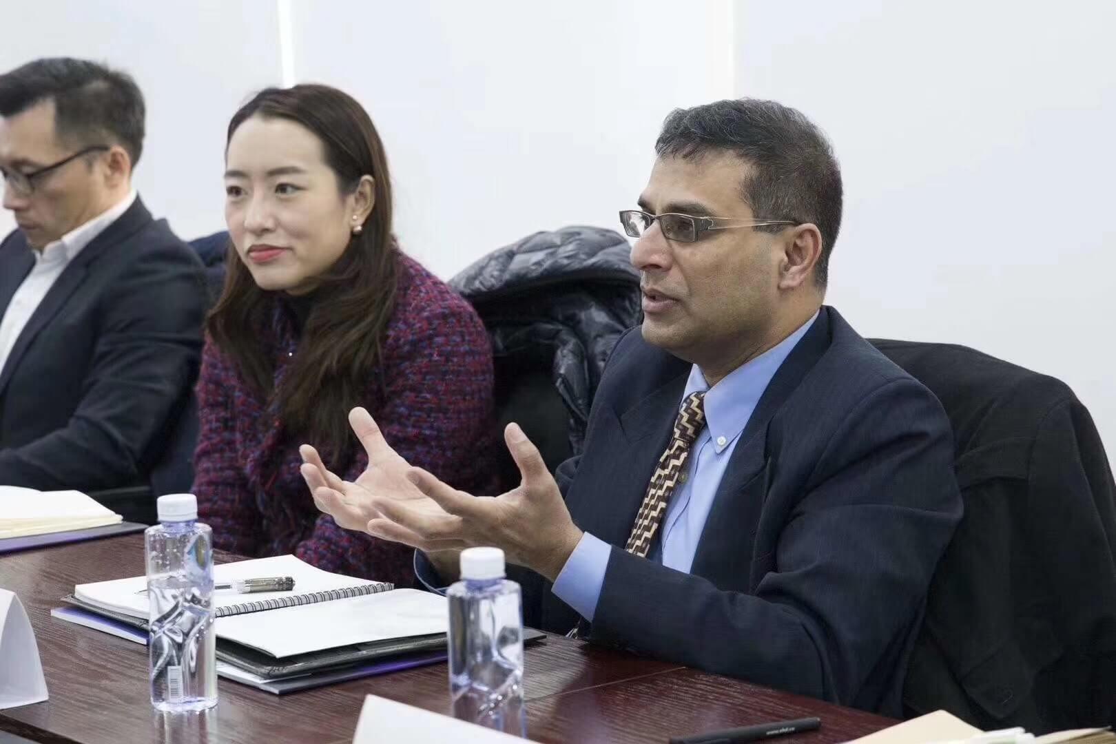 ETS托福项目全球执行总监Srikant Gopal一行来访新航道