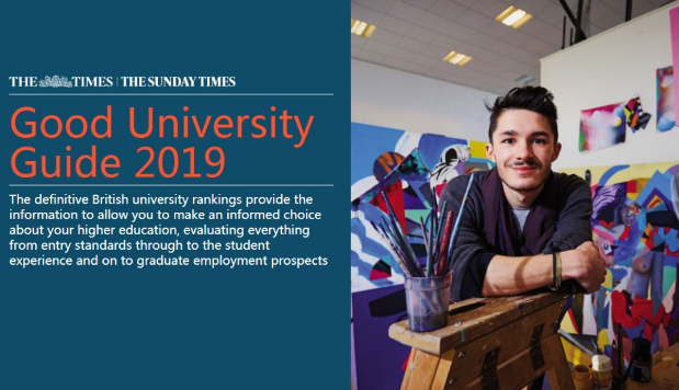 2019年泰晤士报TIMES英国大学排名公布:剑桥成功卫冕