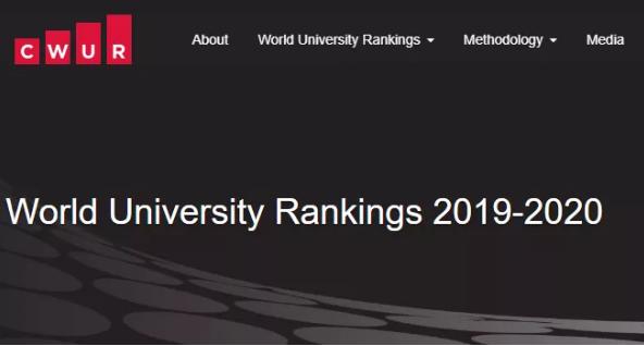 2020年CWUR世界大学排名公布,美国213所院校上榜!