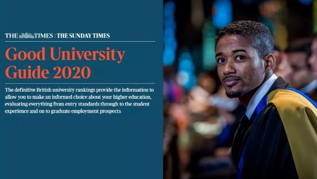 2020年TIMES英国大学排名公布,英国TOP10名次依旧稳固!