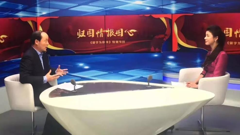 培养青少年文化自信,用英语闯世界——胡敏教授做客中国教育电视台1套元旦特别节目