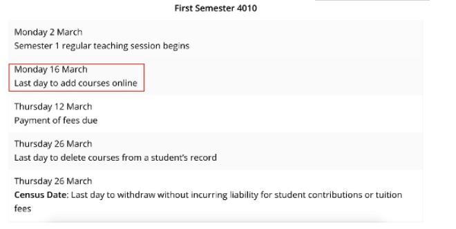 阿德莱德大学到校日期不能晚于6月1日
