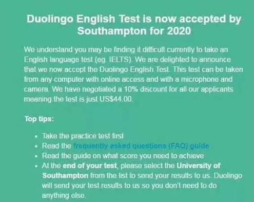 英国多所大学降低直录雅思要求,实行弹性化语言班授课
