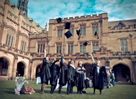 澳洲留学学校排名?排名前五的澳洲大学