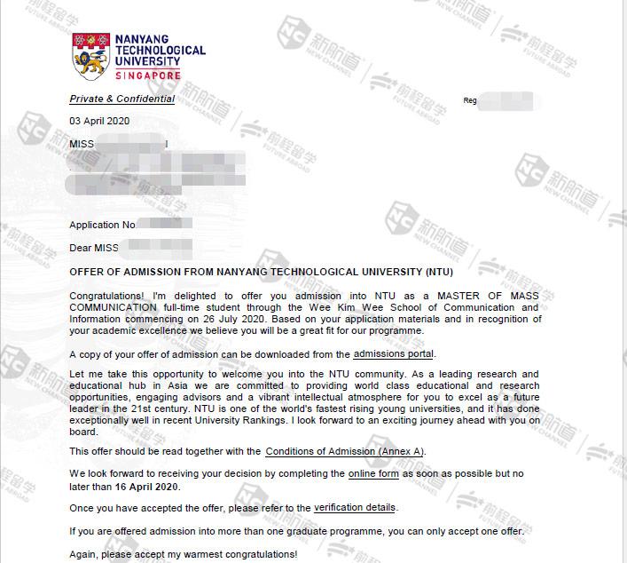 Z同学-南洋理工(英联邦硕士高端)