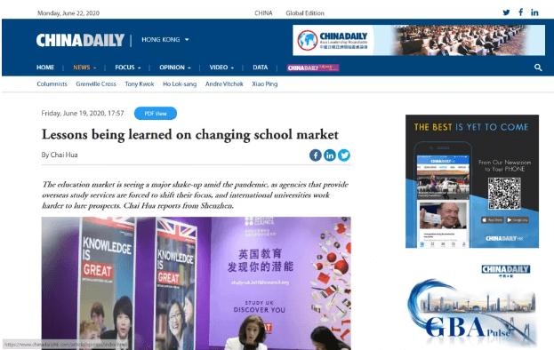 新航道首席留学专家冉维老师答《中国日报》记者问:海外教育市场将回升,出国留学仍然可行