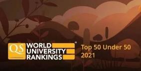 """最新!QS发布2021全球""""年轻有为""""世界大学排名!新加坡南洋理工七连冠!"""