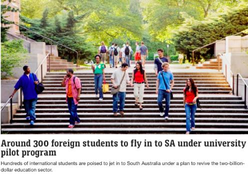 9月首批留学生返回澳洲,隔离费用学校支付!