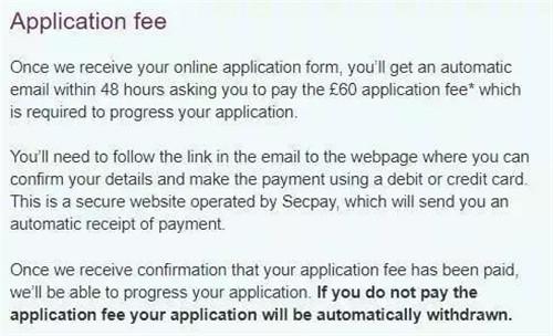 商科专业申请费60镑。.jpg